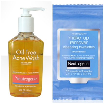 Neutrogena Cleanser Collage