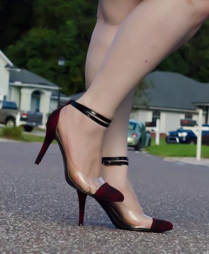 boohoo plaid heels