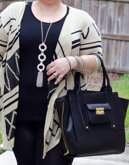 lane bryant necklace, phillip lim for target bag, deb shops bangles, plus size fashion, plus size style, plus size blog, plus size fashion blog, plus size fashion blogger