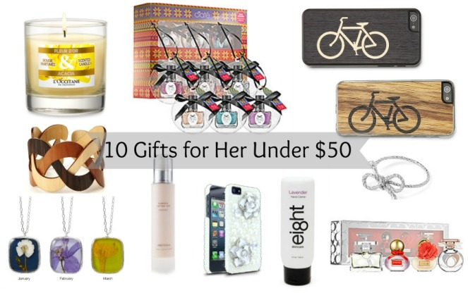 10 Gifts for Her Under $50 on Kirstin Marie