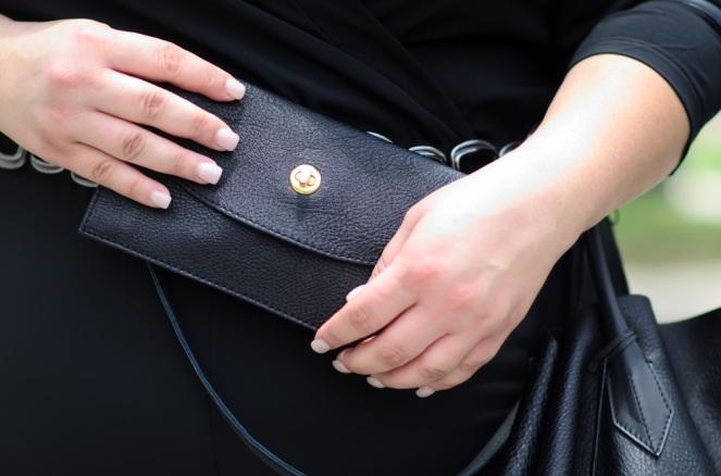 Adora Bag Clutch on Kirstin Marie