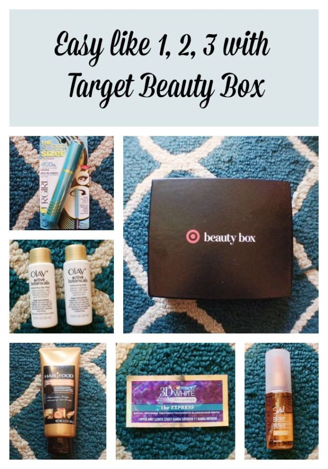 Easy like 1, 2, 3 with Target Beauty Box on Kirstin Marie