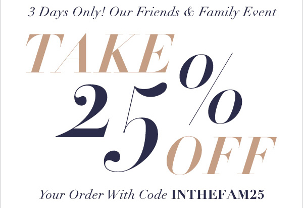 Shopbop Friends and Family sale October 2015 on Kirstin Marie