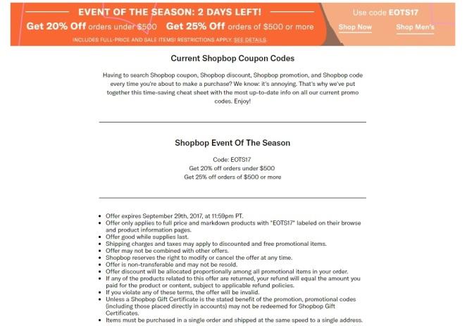 ShopBop Sale Details on Kir Sparkles